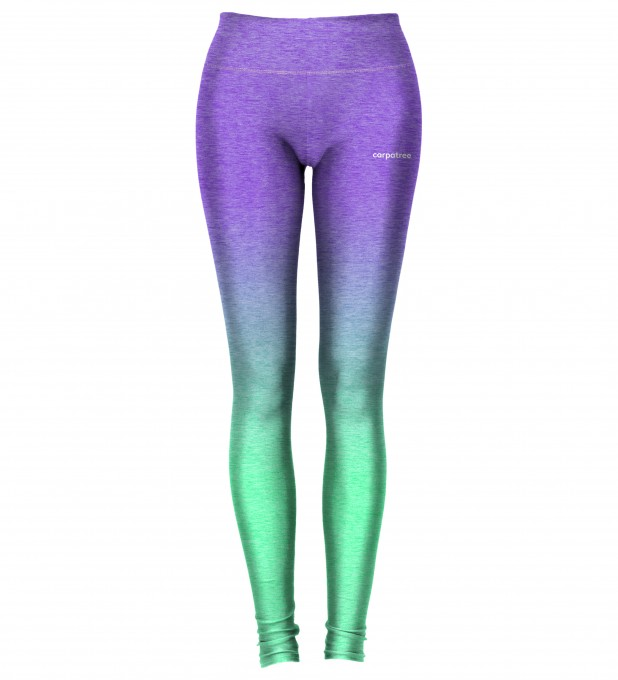 Purple Mint Ombre leggings Thumbnail 2