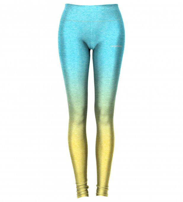 Sea Yellow Ombre leggings Thumbnail 2