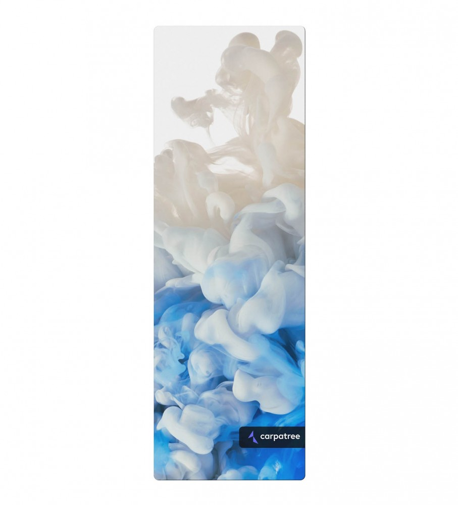 Carpatree, Blue Smoke Yoga Mat Image $i