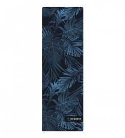 Carpatree, Navy Tropical Yoga Mat Thumbnail $i