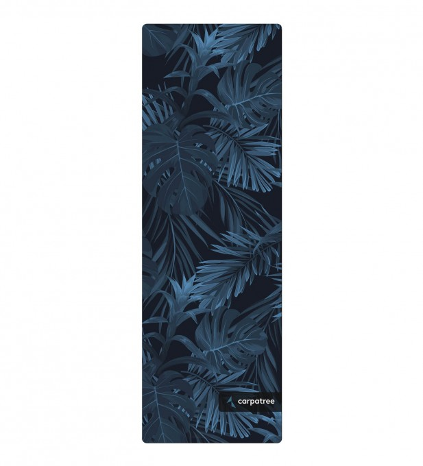 Navy Tropical Yoga Mat Thumbnail 2