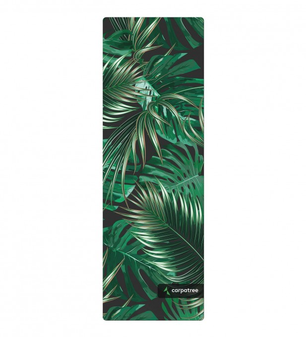 Green Tropical Yoga Mat Thumbnail 2