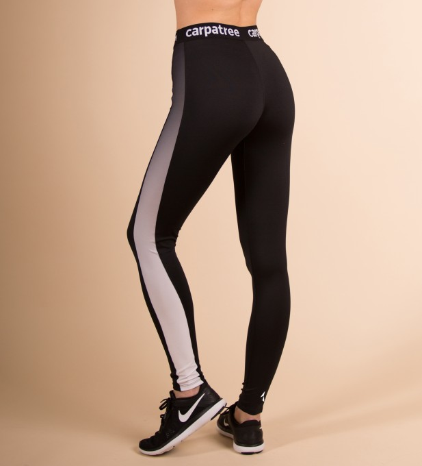 Black Side Panels Leggings Thumbnail 2