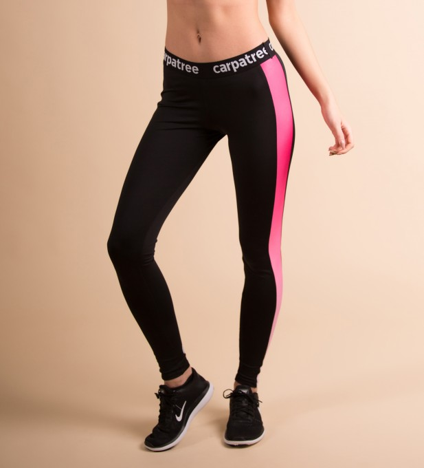 Pink Side Panels Leggings Thumbnail 1