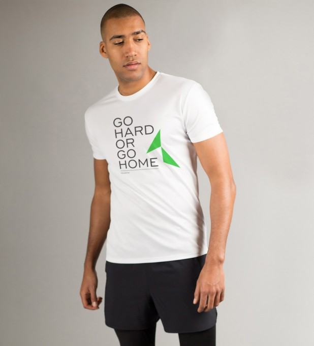 Go Hard or Go Home T-Shirt Thumbnail 1