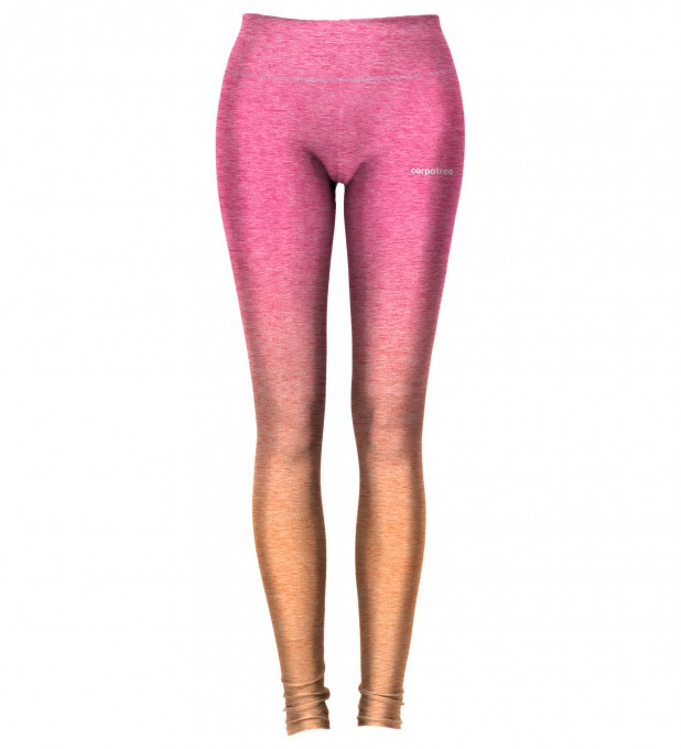 Pink Orange Ombre leggings Thumbnail 2