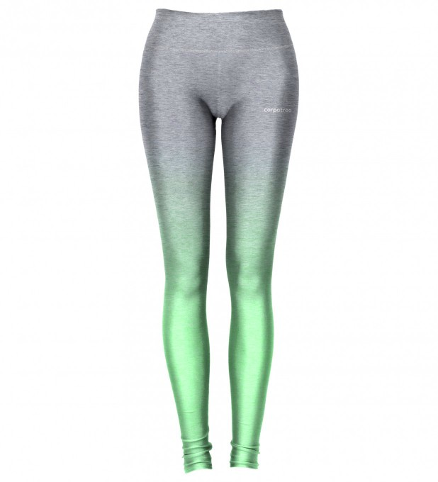 Grey Mint Ombre leggings Thumbnail 2