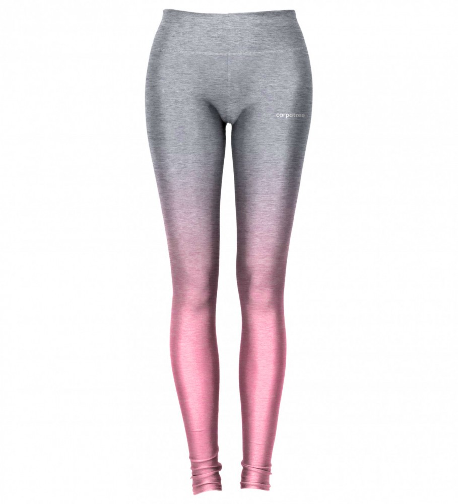 Carpatree, Grey Pink Ombre leggings Image $i