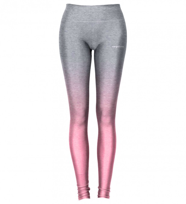 Grey Pink Ombre leggings Thumbnail 2