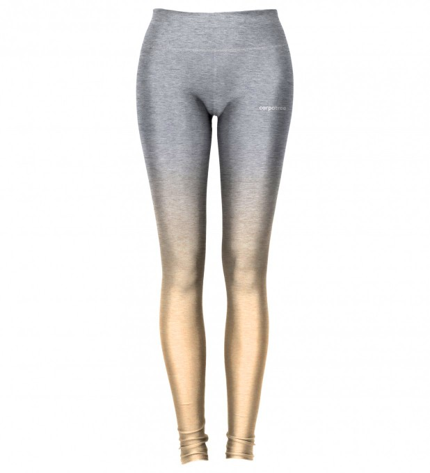 Grey Orange Ombre leggings Thumbnail 2