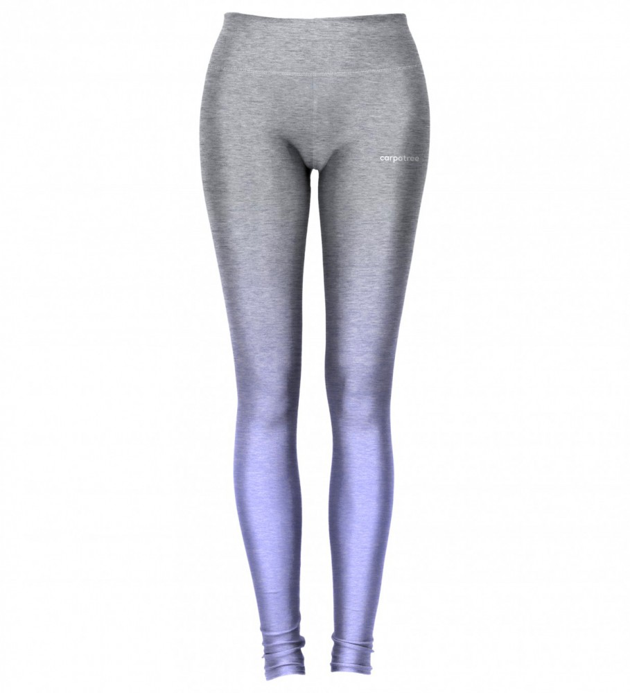 Carpatree, Grey-To-Blue Ombre leggings Image $i