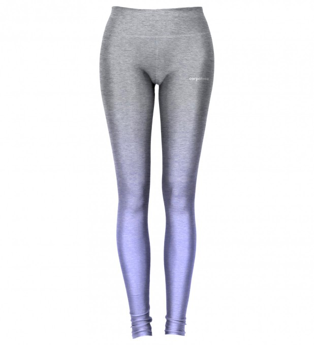 Grey-To-Blue Ombre leggings Thumbnail 2