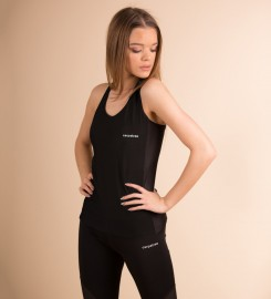 Carpatree, Full Black Mesh Tank-Top Thumbnail $i