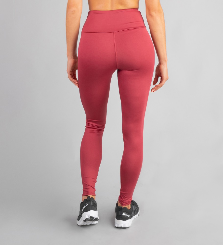 Carpatree, Burgundy Classic Highwaist Leggings Image $i