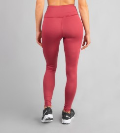 Carpatree, Burgundy Classic Highwaist Leggings Thumbnail $i