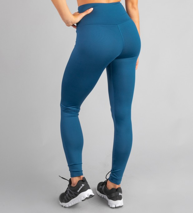 Petrol Blue Classic Highwaist Leggings Thumbnail 2