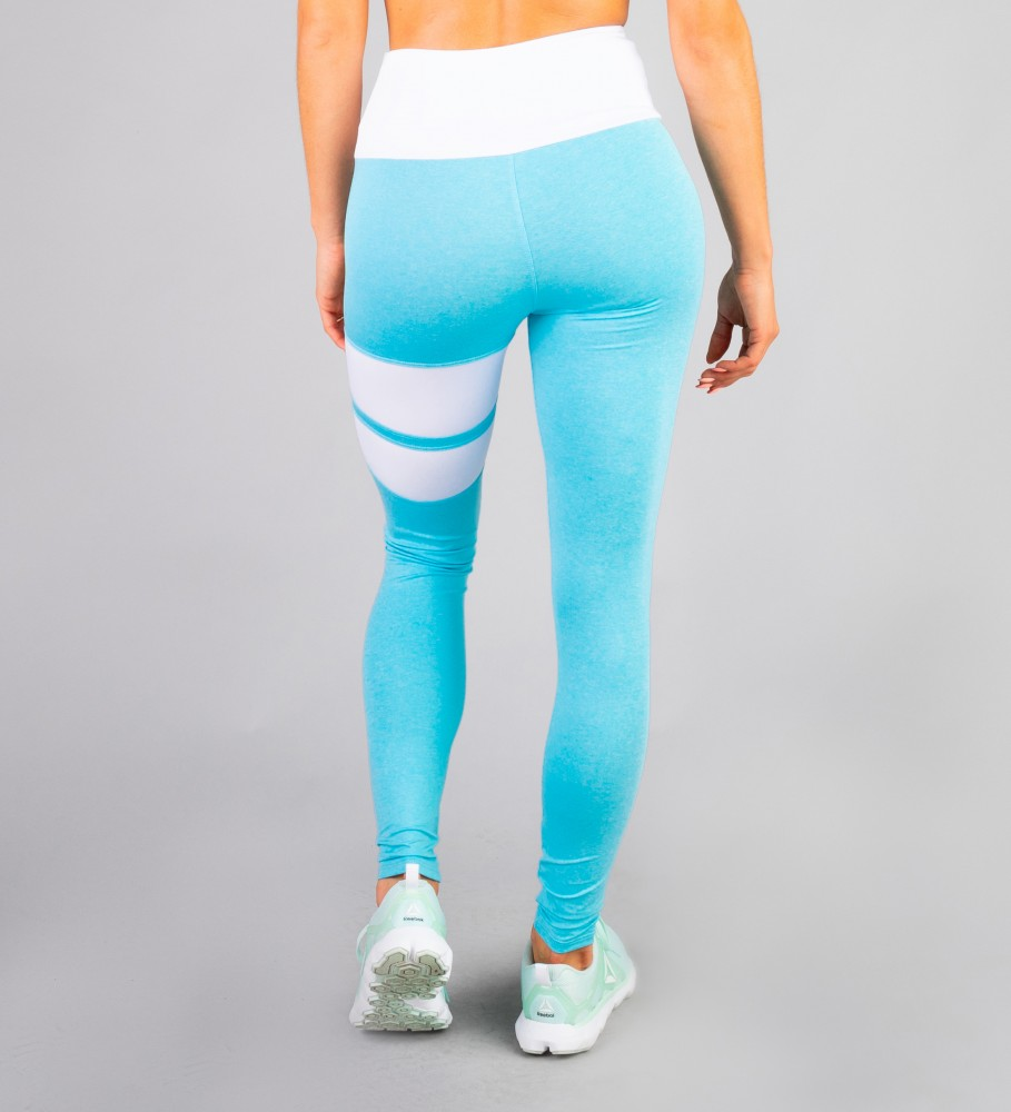Carpatree, Sky Blue Loop leggings Image $i