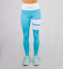 Carpatree, Sky Blue Loop leggings Thumbnail $i