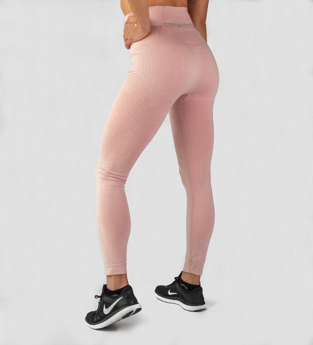 Dirty Pink Model One seamless Leggings Thumbnail 2
