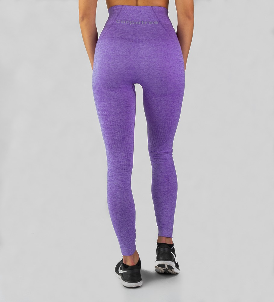 Carpatree, Violet Model One seamless Leggings Image $i