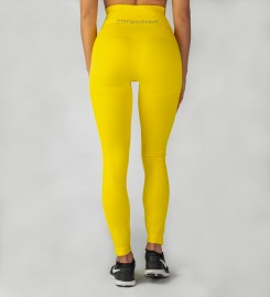Carpatree, Yellow Model One seamless Leggings Thumbnail $i