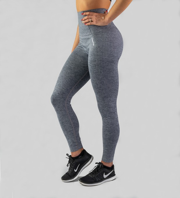 Grey Model One seamless Leggings Thumbnail 1