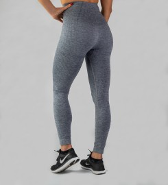 Carpatree, Grey Model One seamless Leggings Thumbnail $i