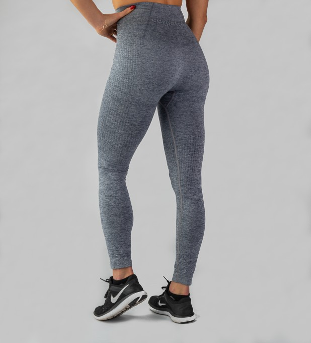 Grey Model One seamless Leggings Thumbnail 2