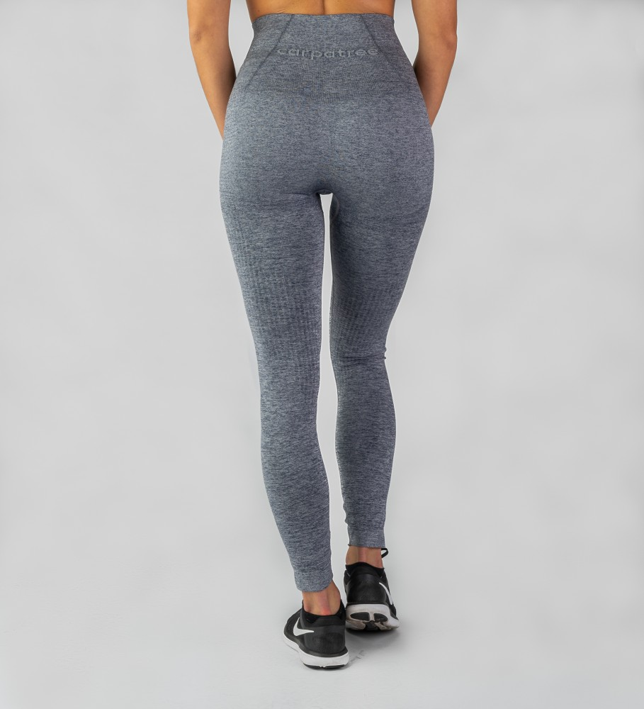 Carpatree, Grey Model One seamless Leggings Image $i