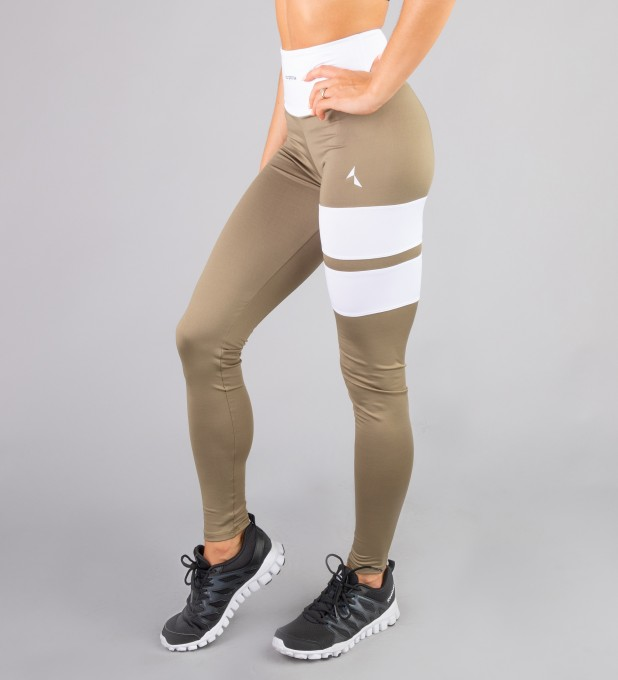 Khaki Loop leggings Thumbnail 1