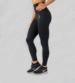 Carpatree, Black Model One seamless Leggings Thumbnail $i