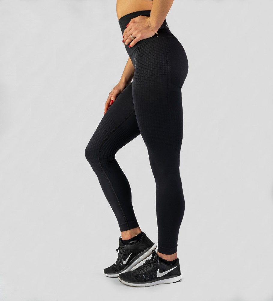 Carpatree, Black Model One seamless Leggings Image $i