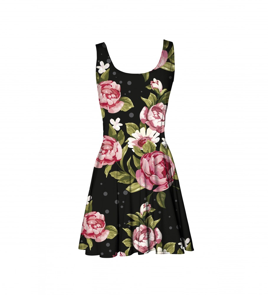 Mr. Gugu & Miss Go, Red Roses circle dress Image $i