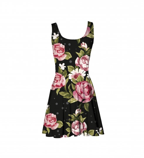 Red Roses robe Miniature 1