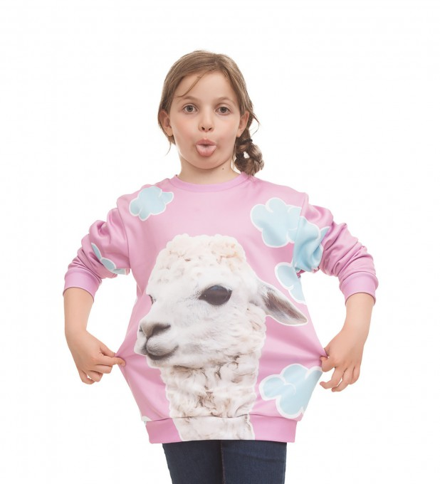 Lama sweater for kids Thumbnail 2