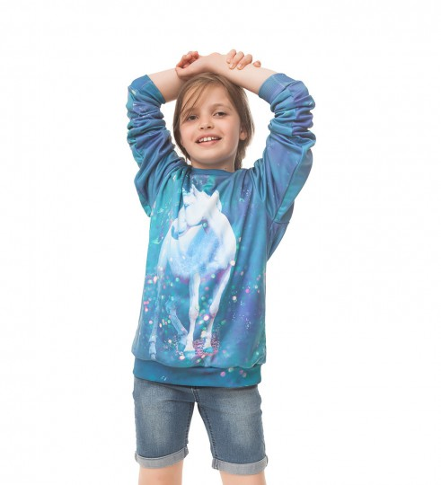 Unicorn sweater for kids Thumbnail 1