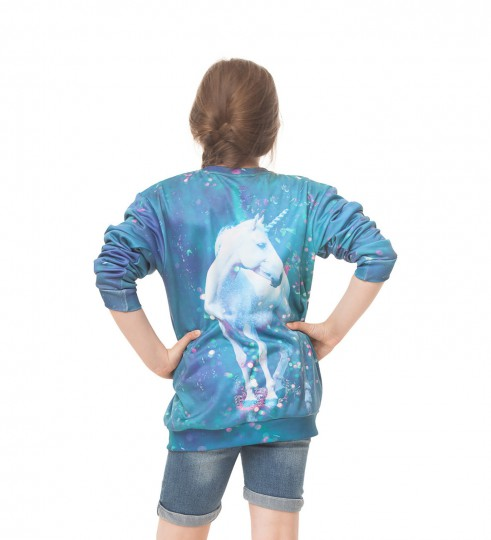 Unicorn sweater for kids Thumbnail 2