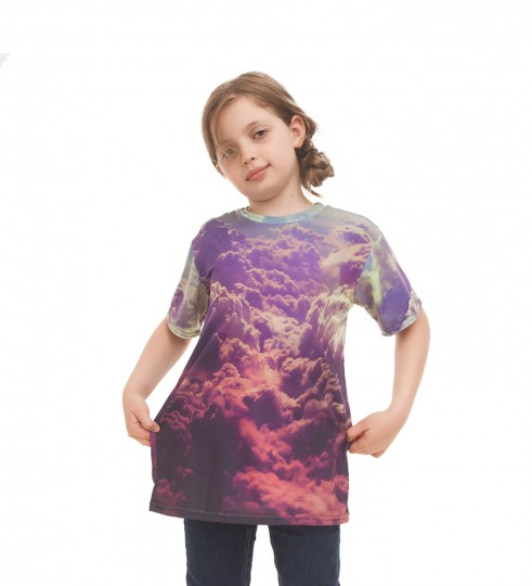 Clouds t-shirt for kids Thumbnail 1