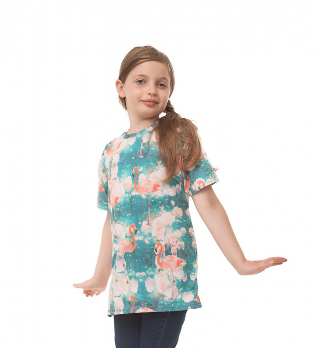 Flamingos t-shirts for kids аватар 1