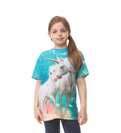 Unicorn family t-shirt pour enfants Miniature 1