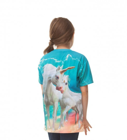 Unicorn family t-shirt pour enfants Miniature 2