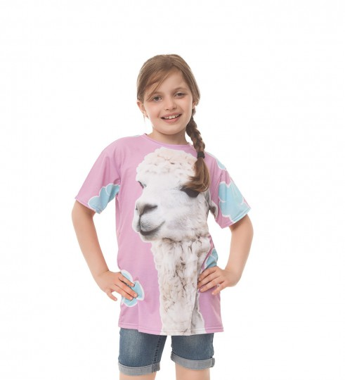 Lama t-shirt for kids Thumbnail 1