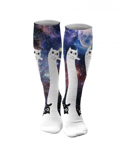To the infinity... and beyond! knee socks Thumbnail 1