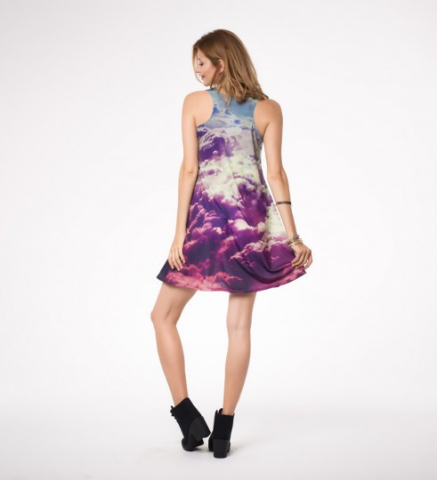 clouds minidress Thumbnail 2