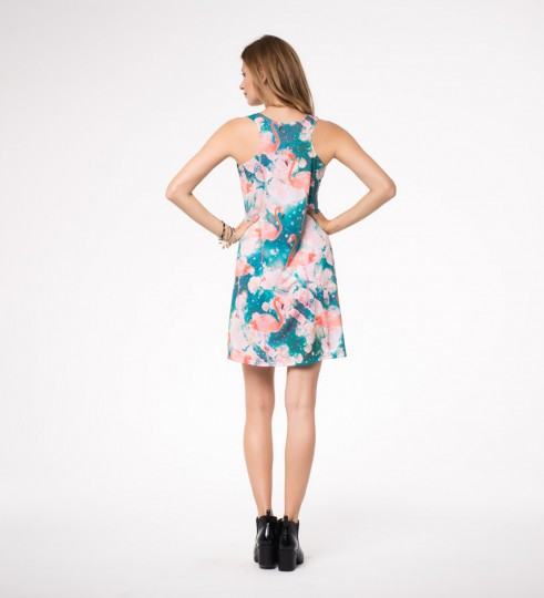 Flamingos minidress Thumbnail 2