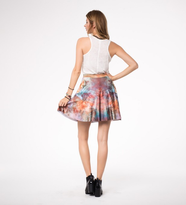 Gold nebula skater skirt Miniature 2