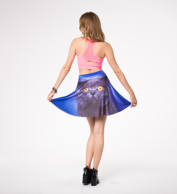 british cat skater skirt Miniature 2