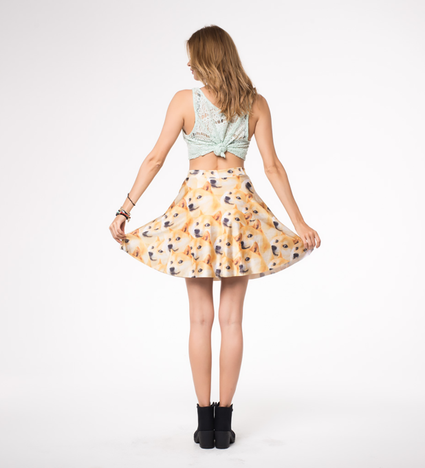 Doge skater skirt Miniature 2