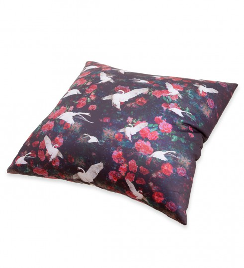 Swans pillow Miniature 2