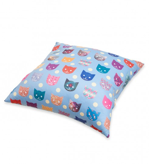 Funny cats pillow Miniature 2